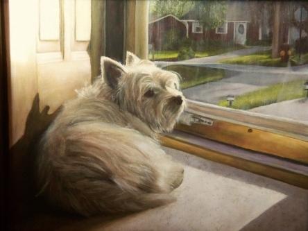Doo, doo, doo, looking out my front door.