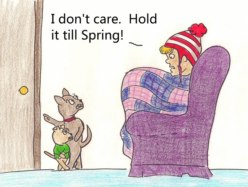 I don't care. Hold it till Spring!