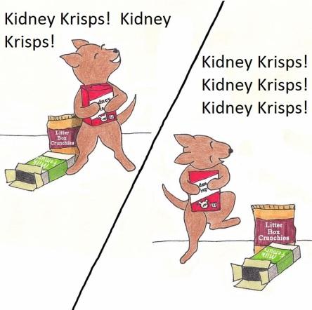 Kidney Krisps! Kidney Krisps!
