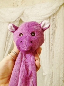 Purple Dog Toy
