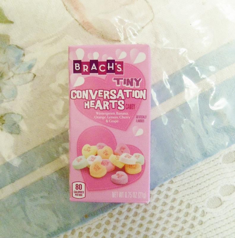 Box of tiny conversation hearts