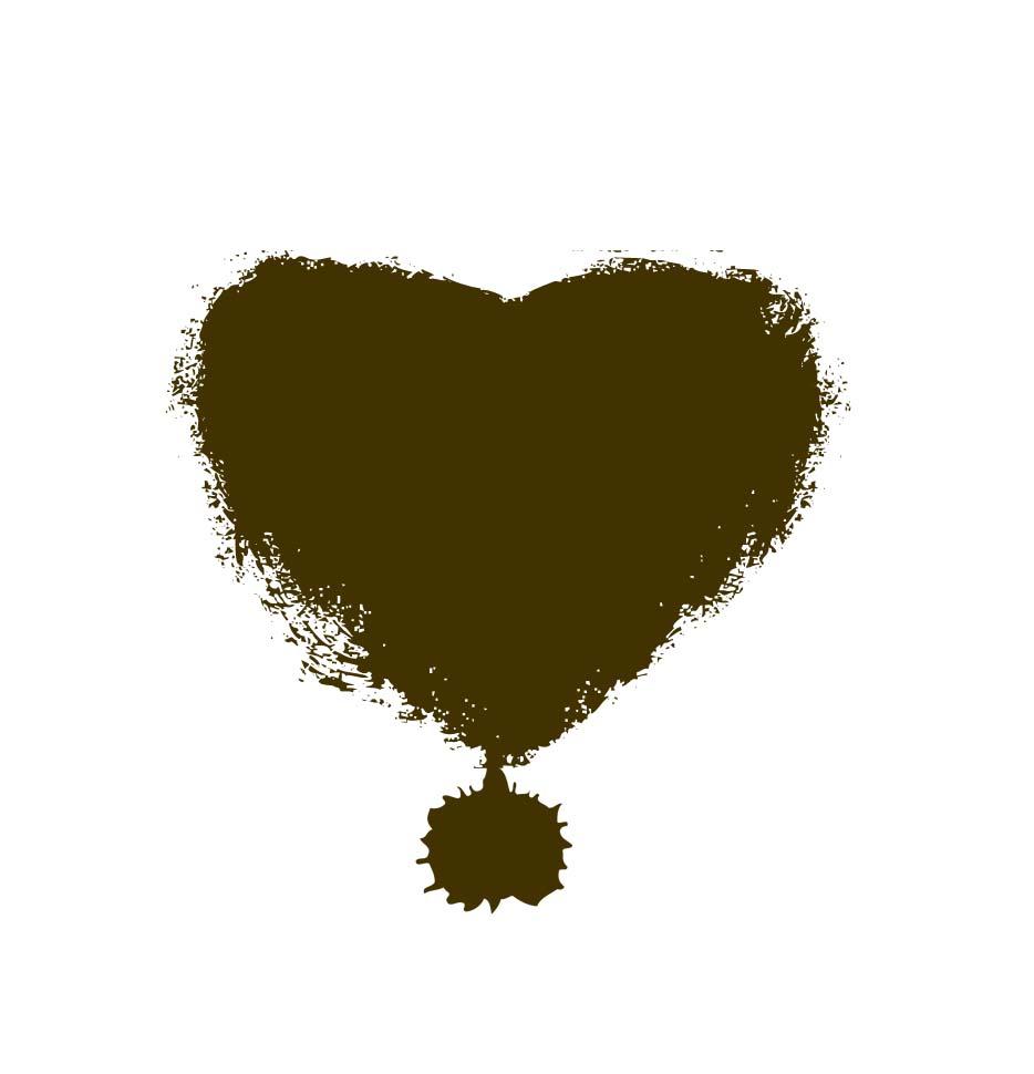 Heart shaped poo