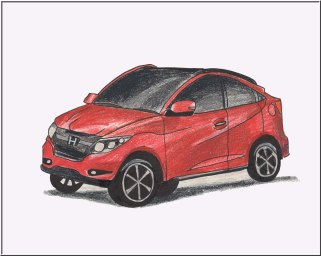 Picture of new sub-compact SUV / Crossover