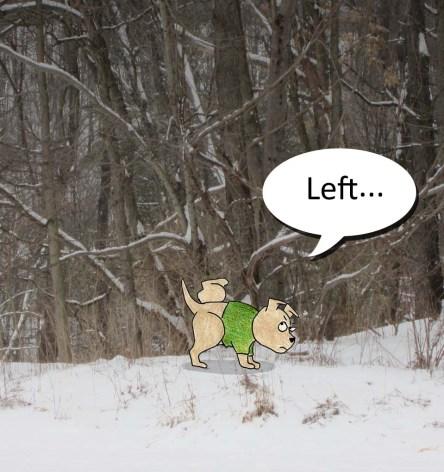 Left...